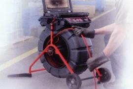 Kamerás csatorna vizsgálat